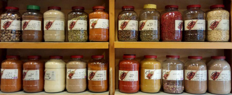 Spices - Machane Yehuda Market
