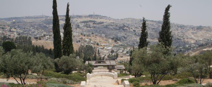 Armon Hanatziv Promenade view
