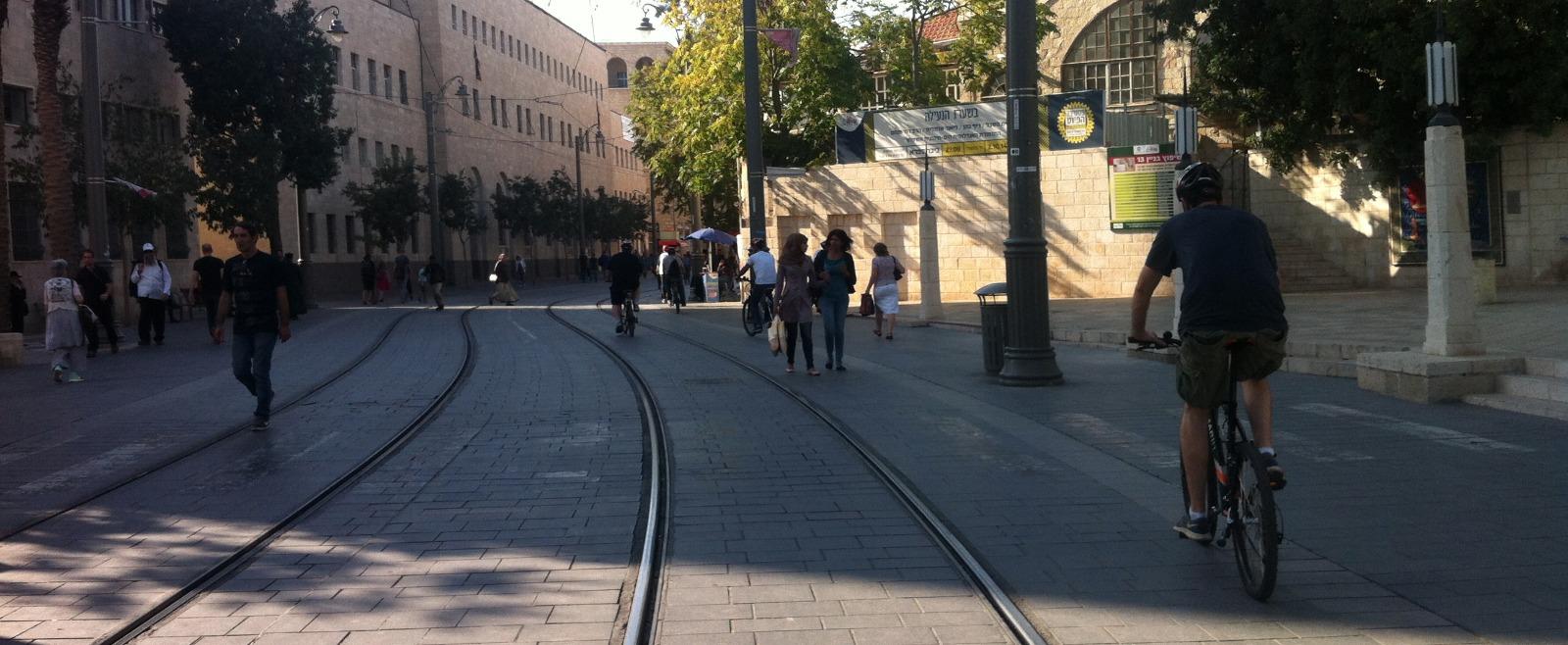 Biking in Jerusalem